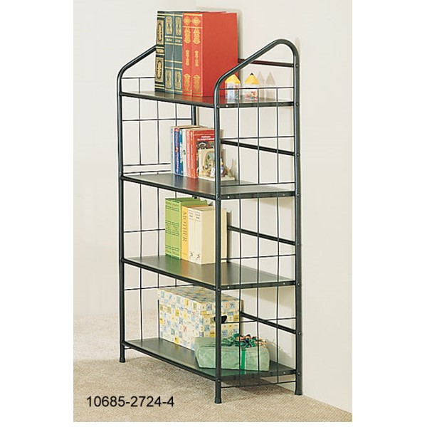 10685-2724-4 4 TIER BOOK SHELVES