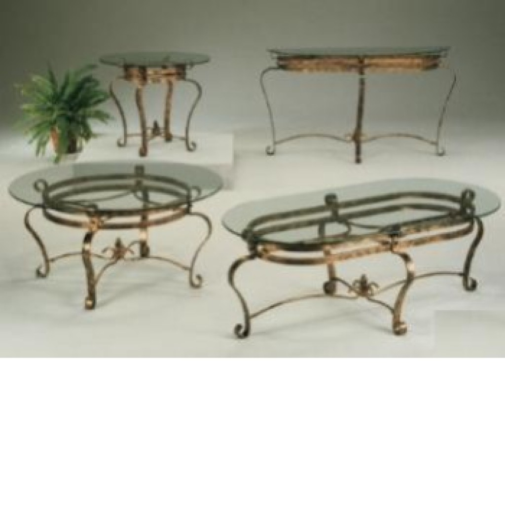1000-3071 Metal Coffee Table Set