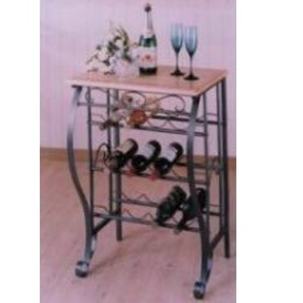10012-B227 Metal Wine Rack