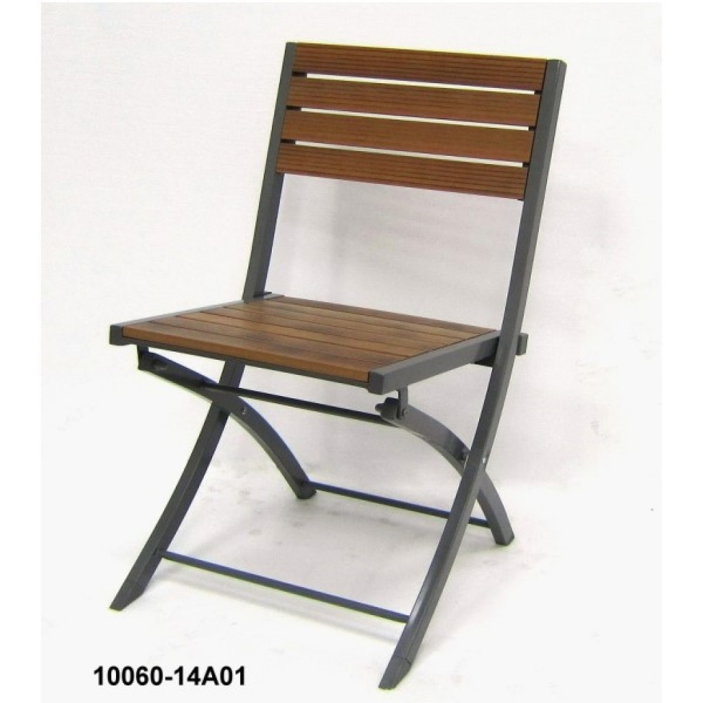10060-14A01 Faux Folding Chair