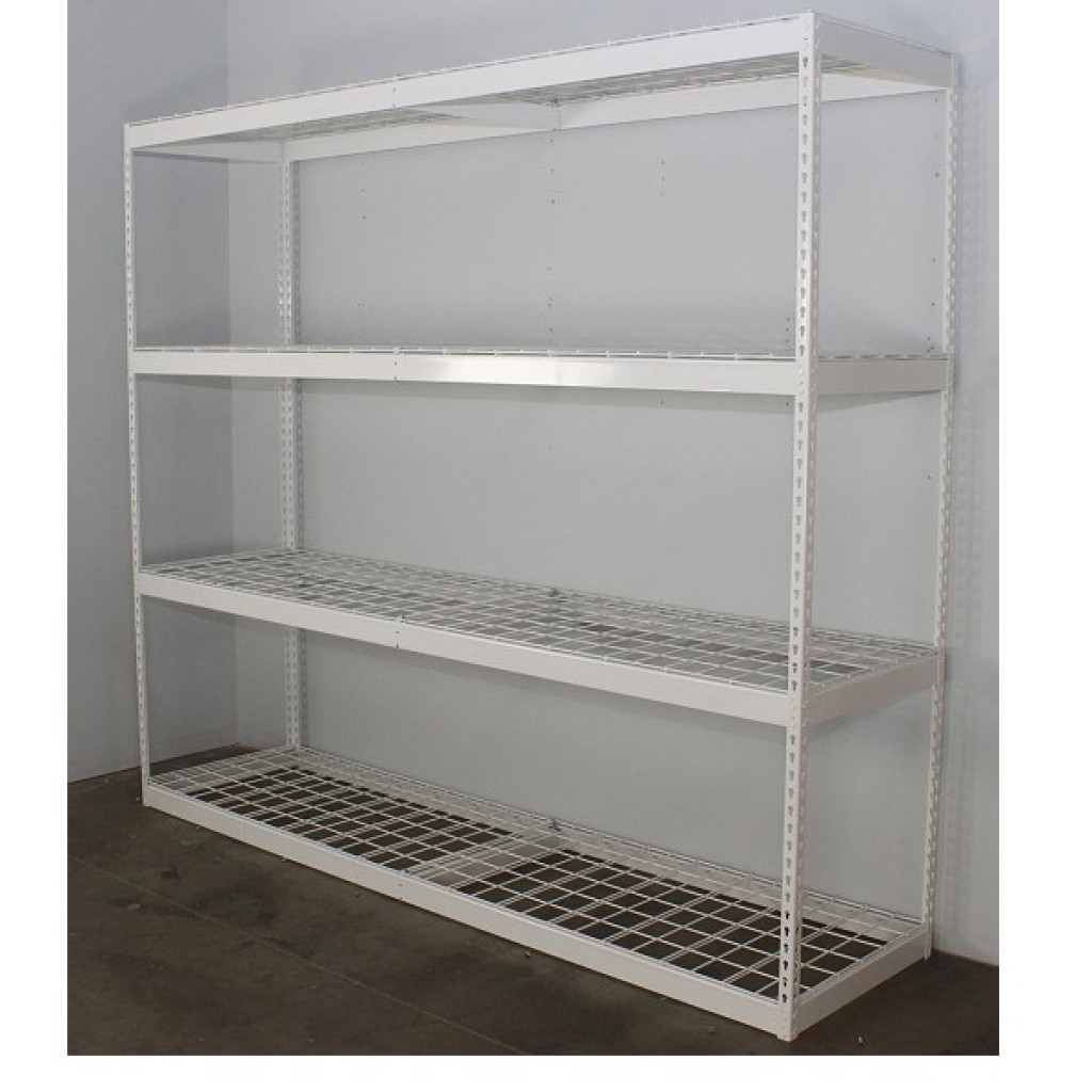 10060-19097 Metal Storage 4 Shelves Rack, without wire net