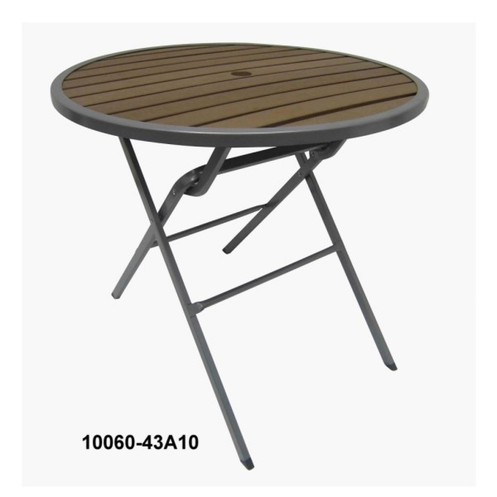 10060-43A10 Faux Folding Table