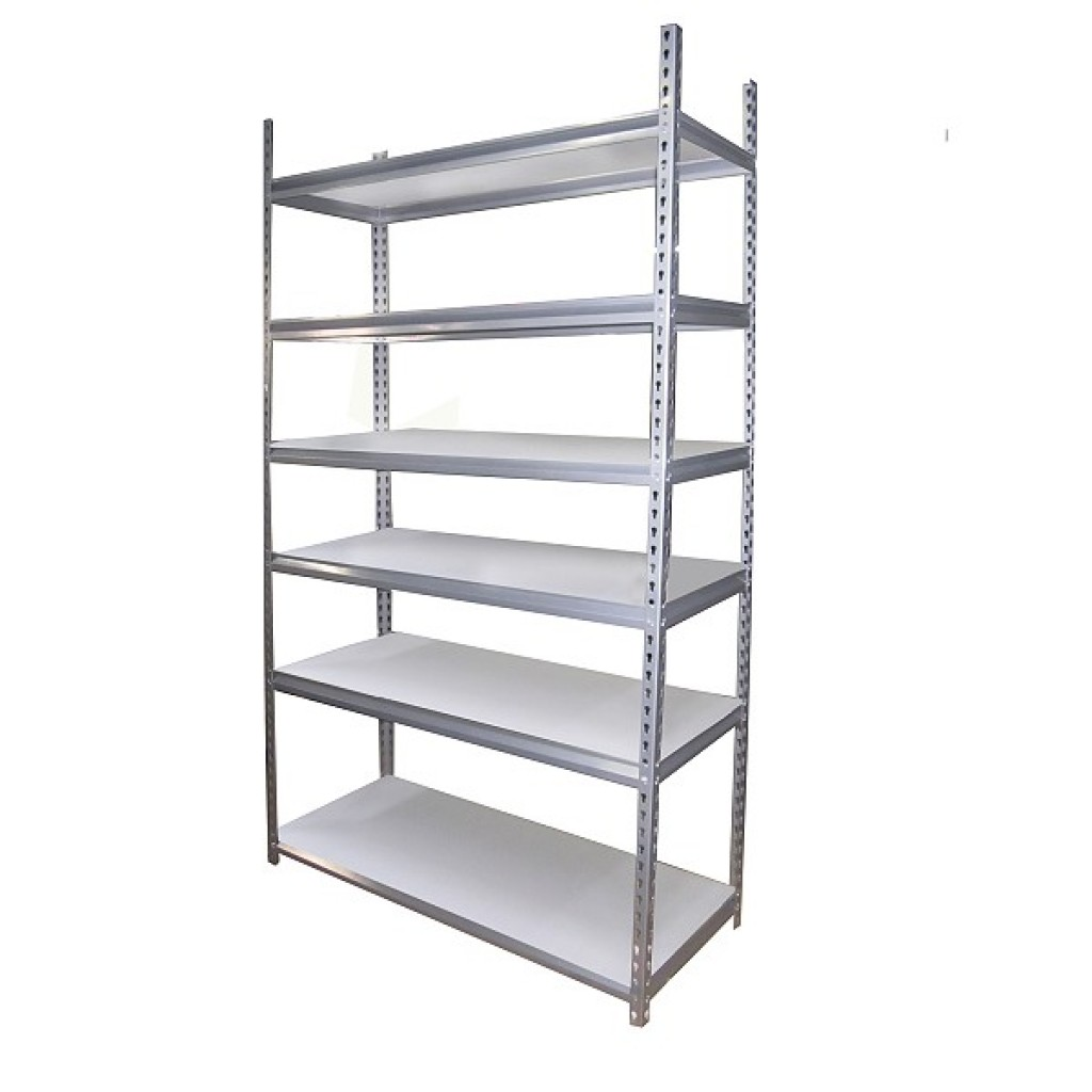 10060-60551 Metal Storage 6 Shelves Rack