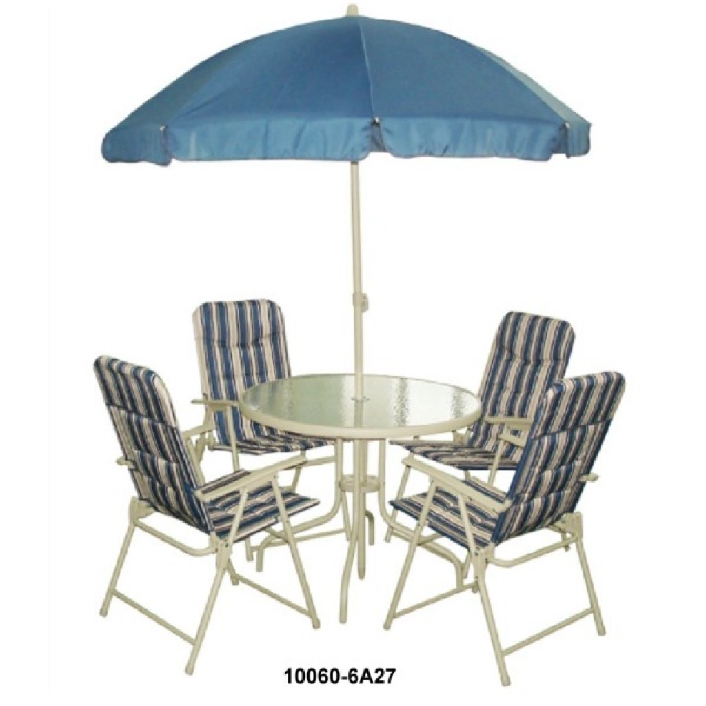 10060-6A27 6pcs/set Patio Set