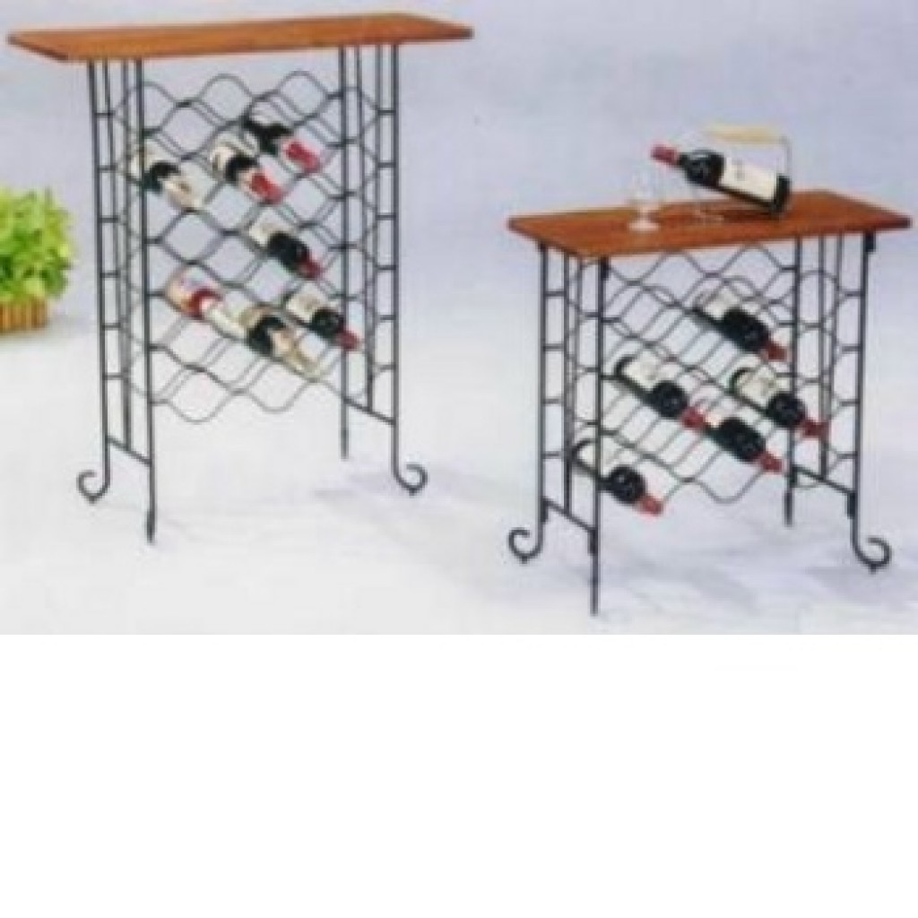 10839-fk-147 Metal Wine Rack