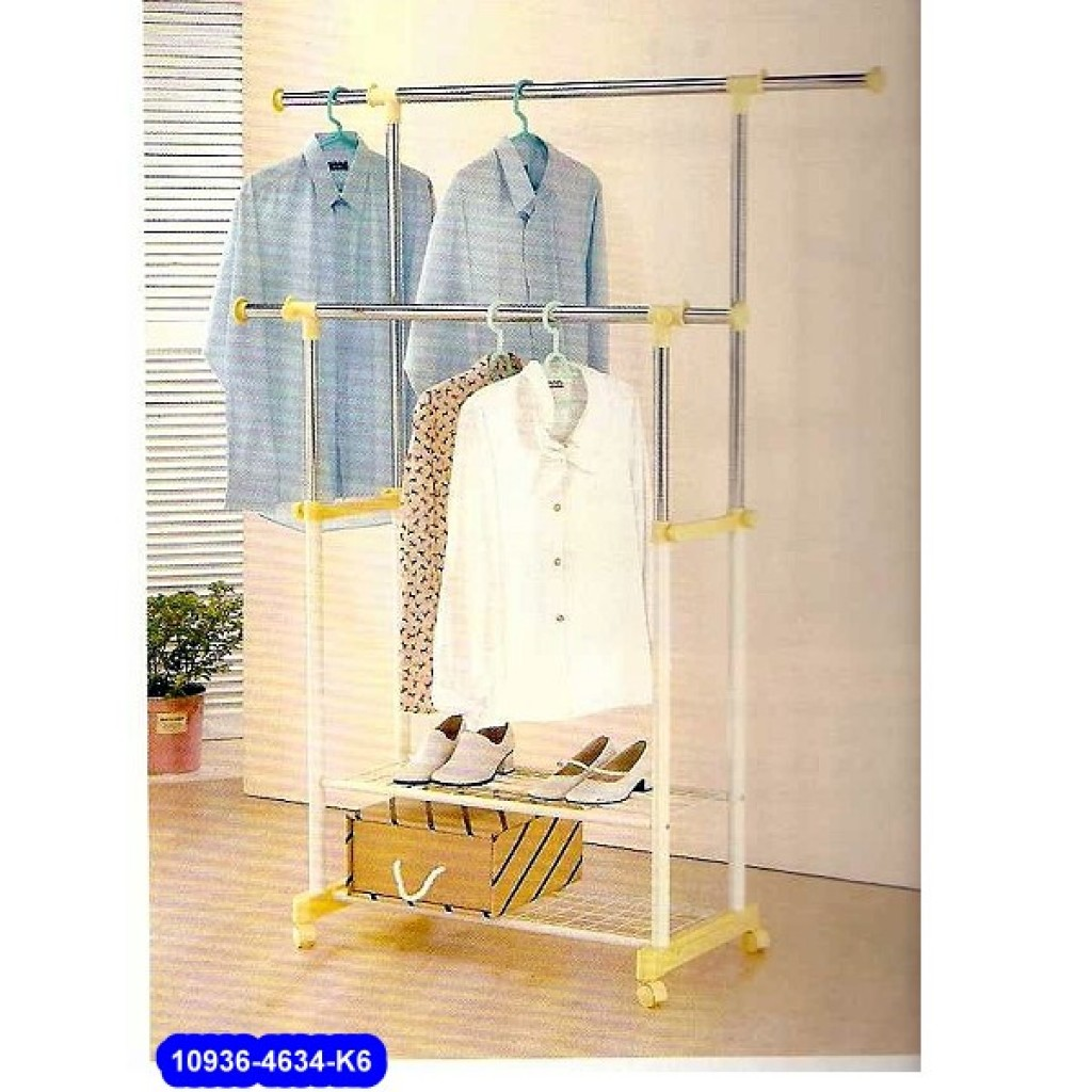 10936-3110-K6 Metal Double Clothes Hanger