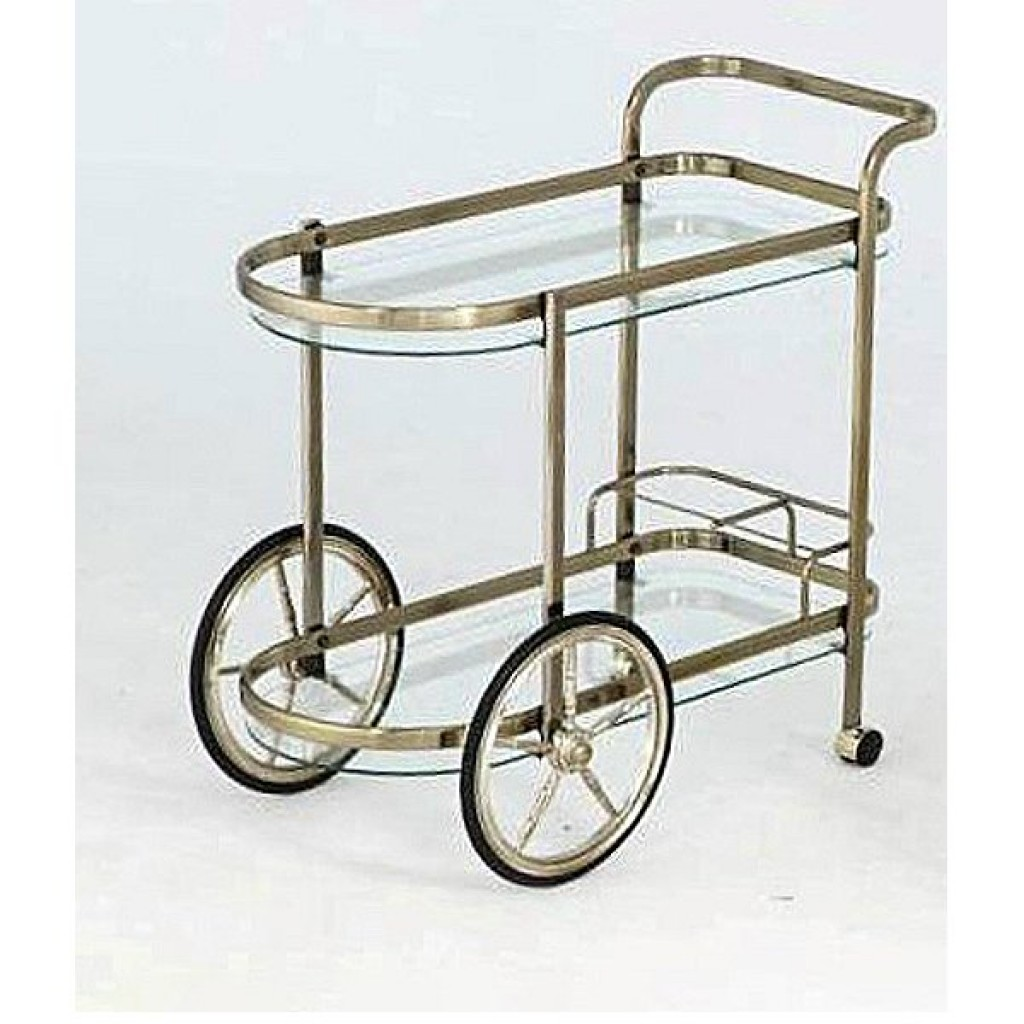 10941-1151-DB Metal Steel Tea Trolley