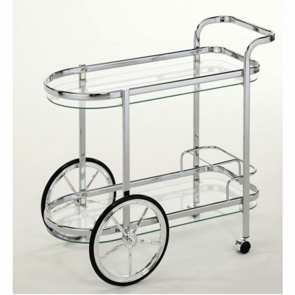 10941-1151-DC Metal Steel Tea Trolley