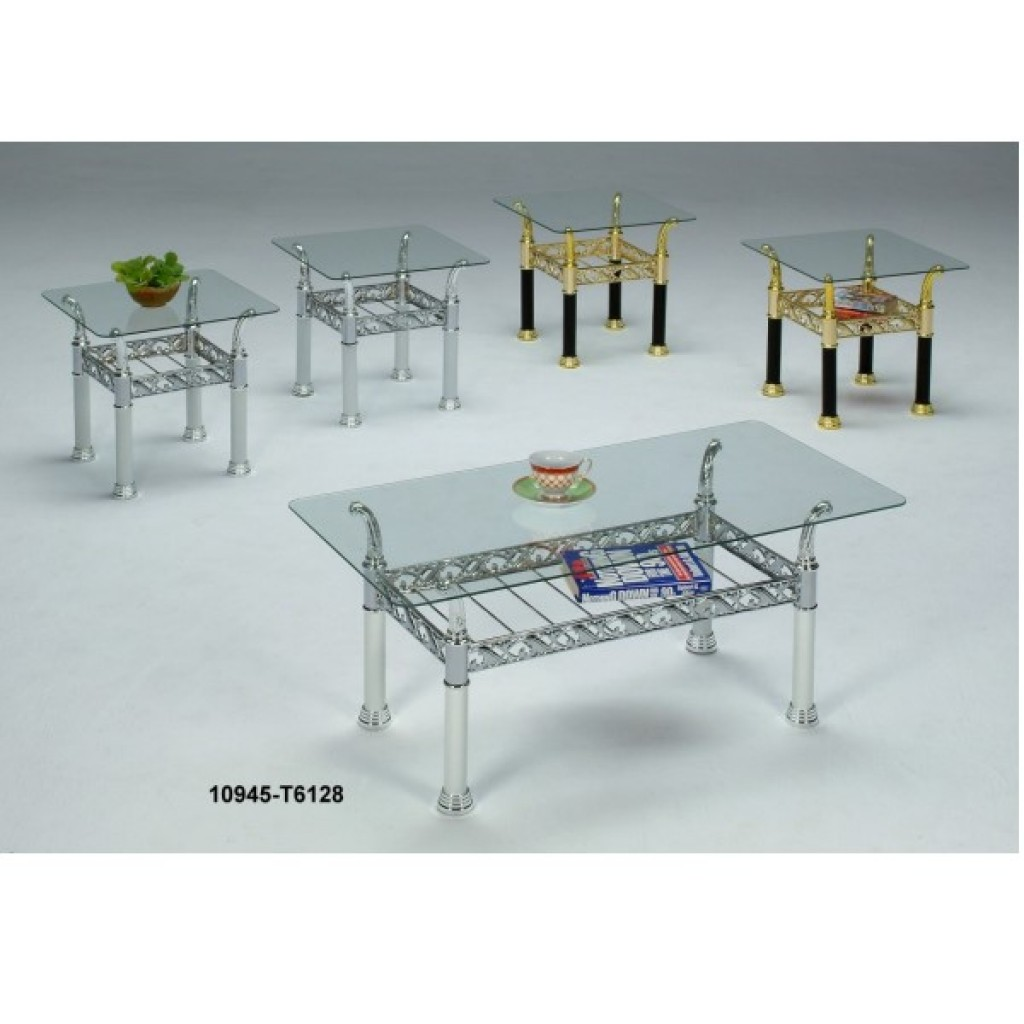 0945-T6128 Metal Coffee Table