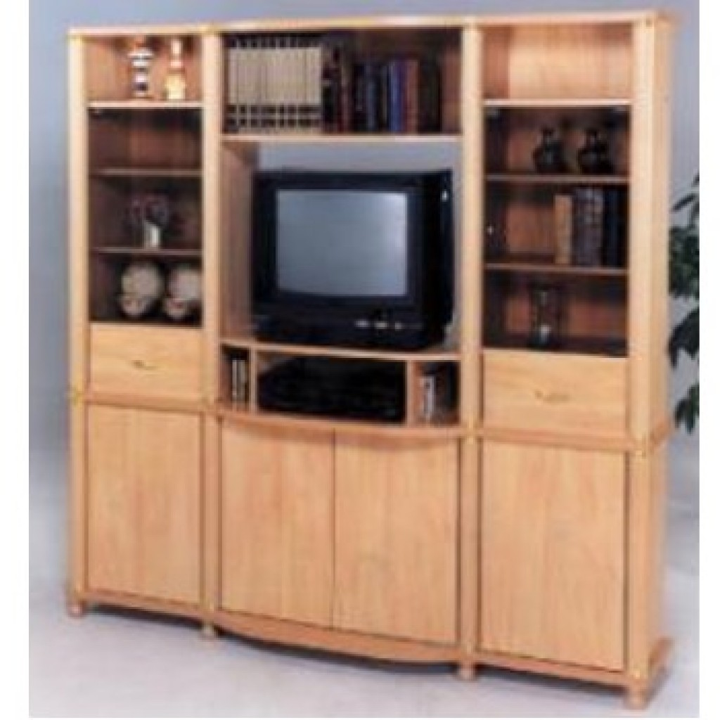11166-002 Wood Wall Unit
