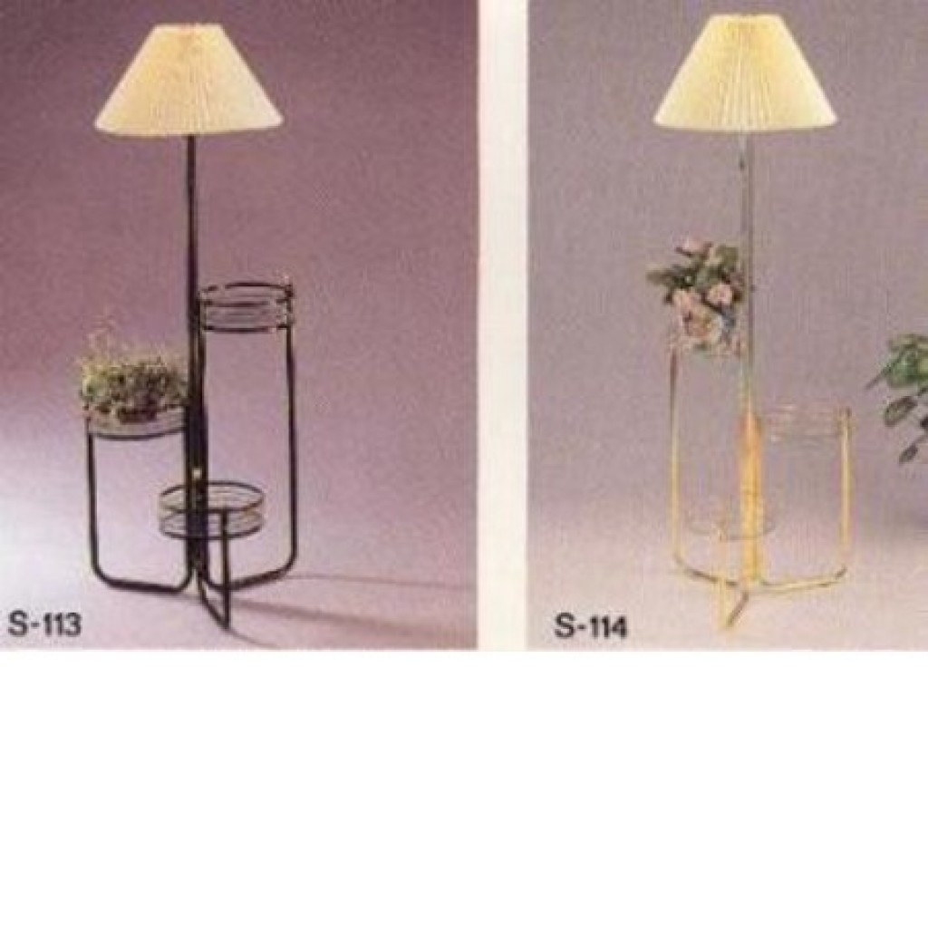 11223-113,114 Flower Stand Lamp