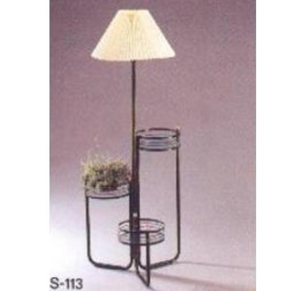 11223-113 Flower Stand Lamp