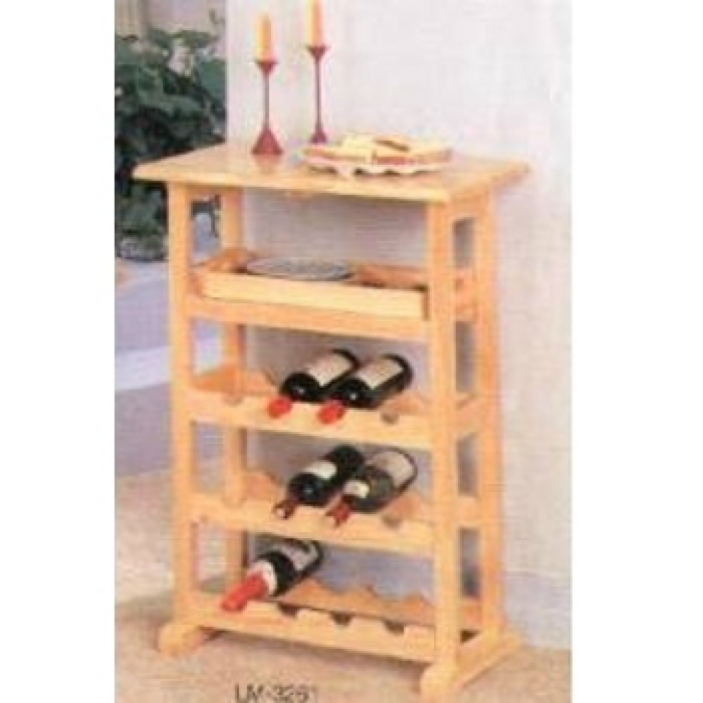 11230-3261 Wooden Wine Rack