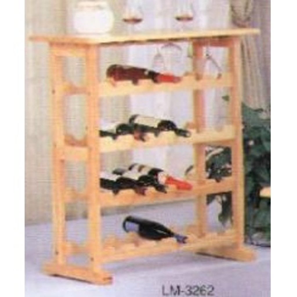 11230-3262 Wooden Wine Rack