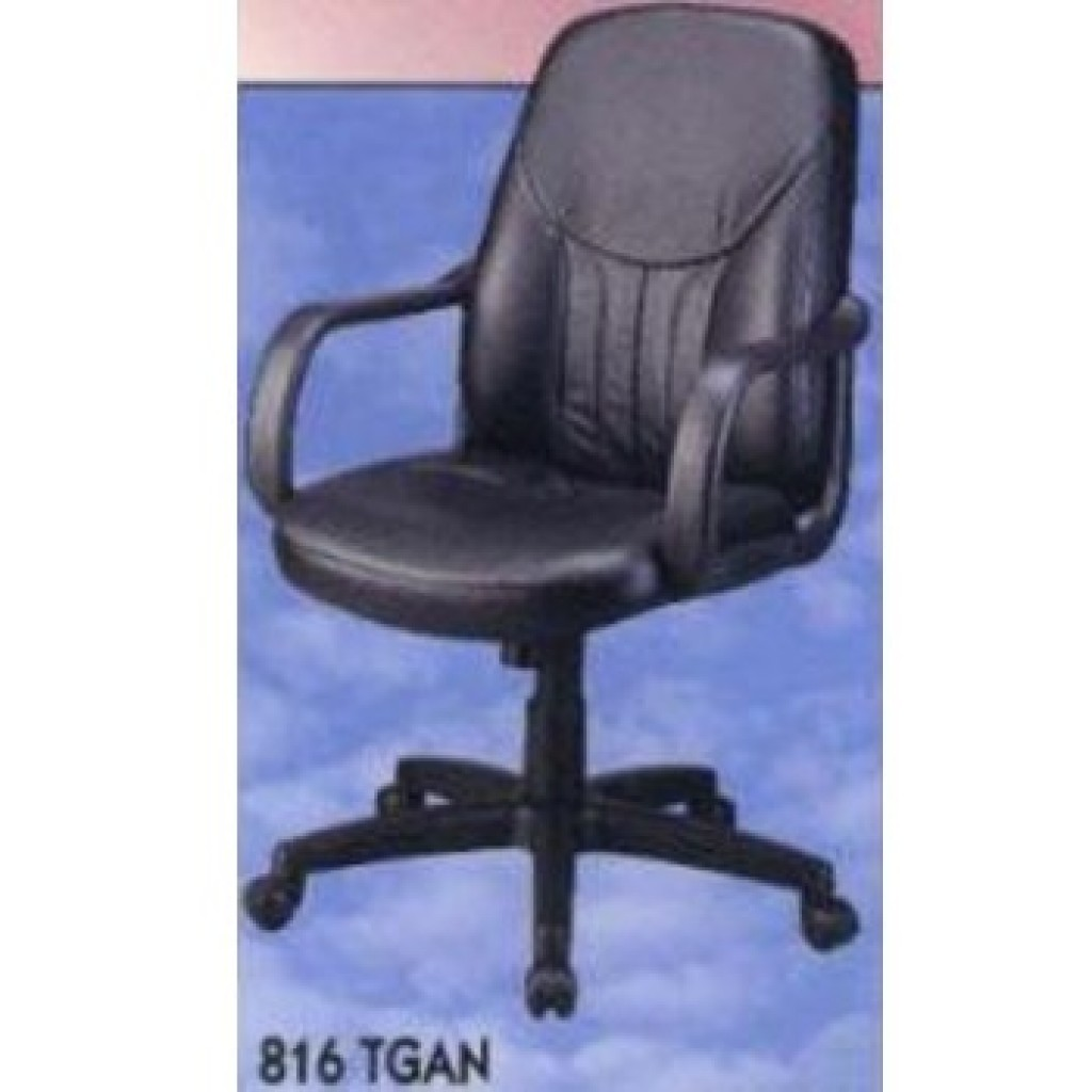 11361-816TGAN Leather Office Chair