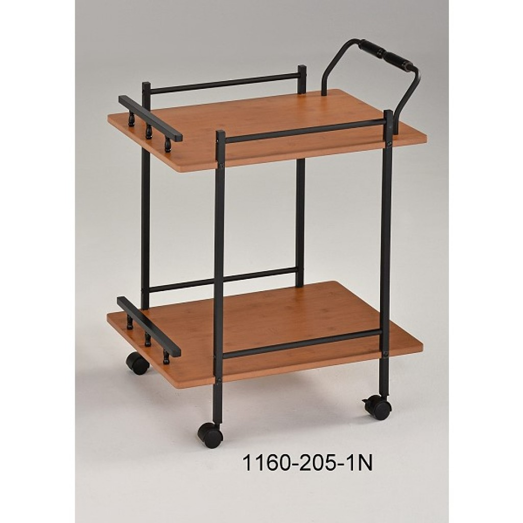 1160-205-1N Wooden/Metal  Tea Trolley