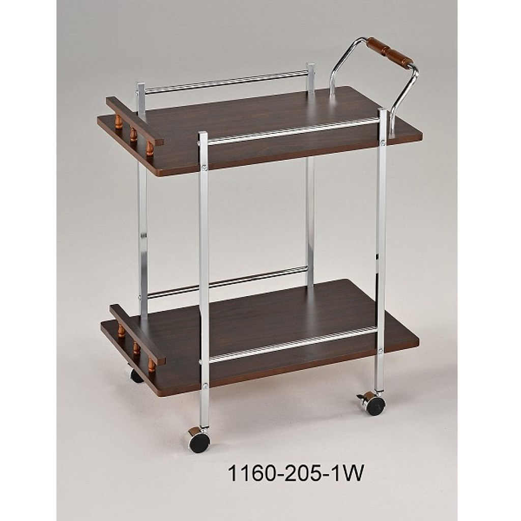 1160-205-1W Wooden/Metal  Tea Trolley