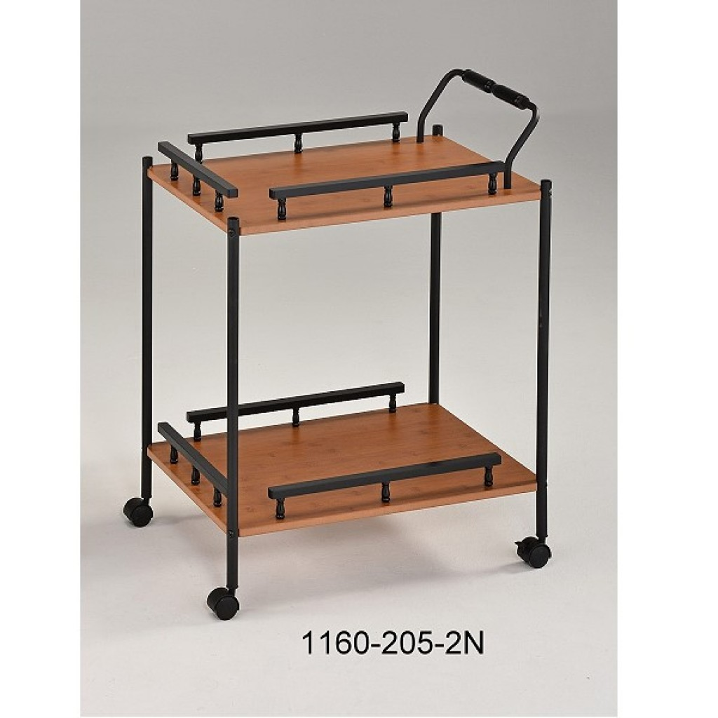 1160-205-2N Wooden/Metal  Tea Trolley