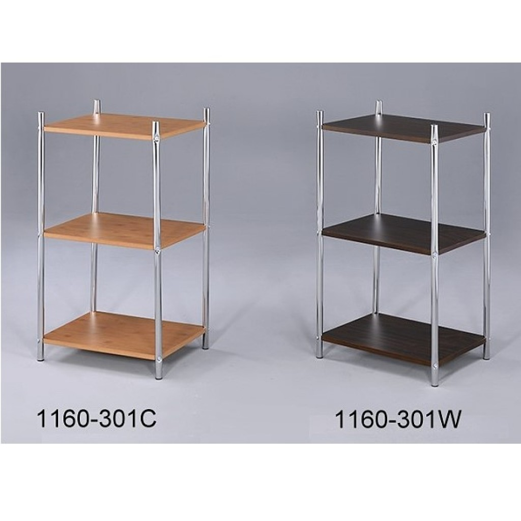 1160-301 Wooden / Metal  3 Tier Rack