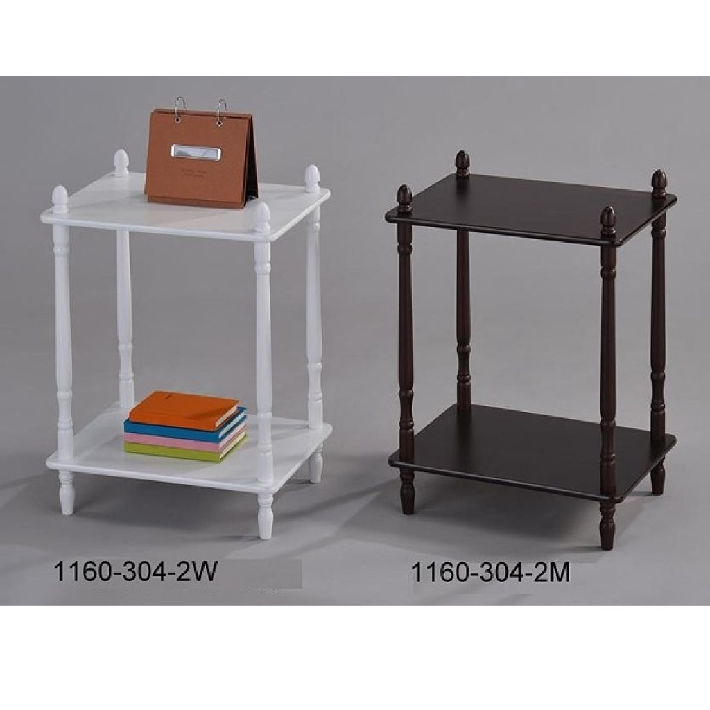 1160-304-2 Wooden 2 Tier Rack