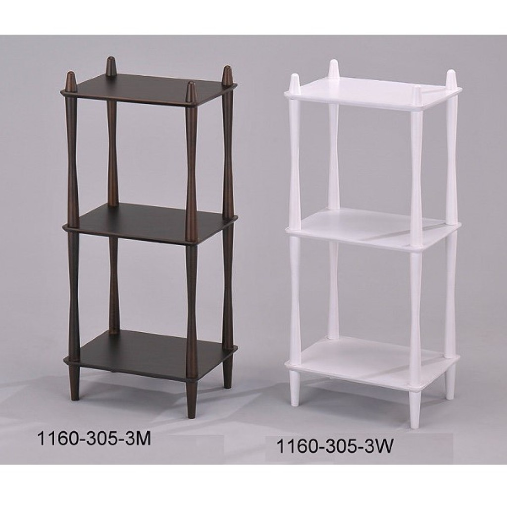 1160-305-3 Wooden  3 Tier Rack