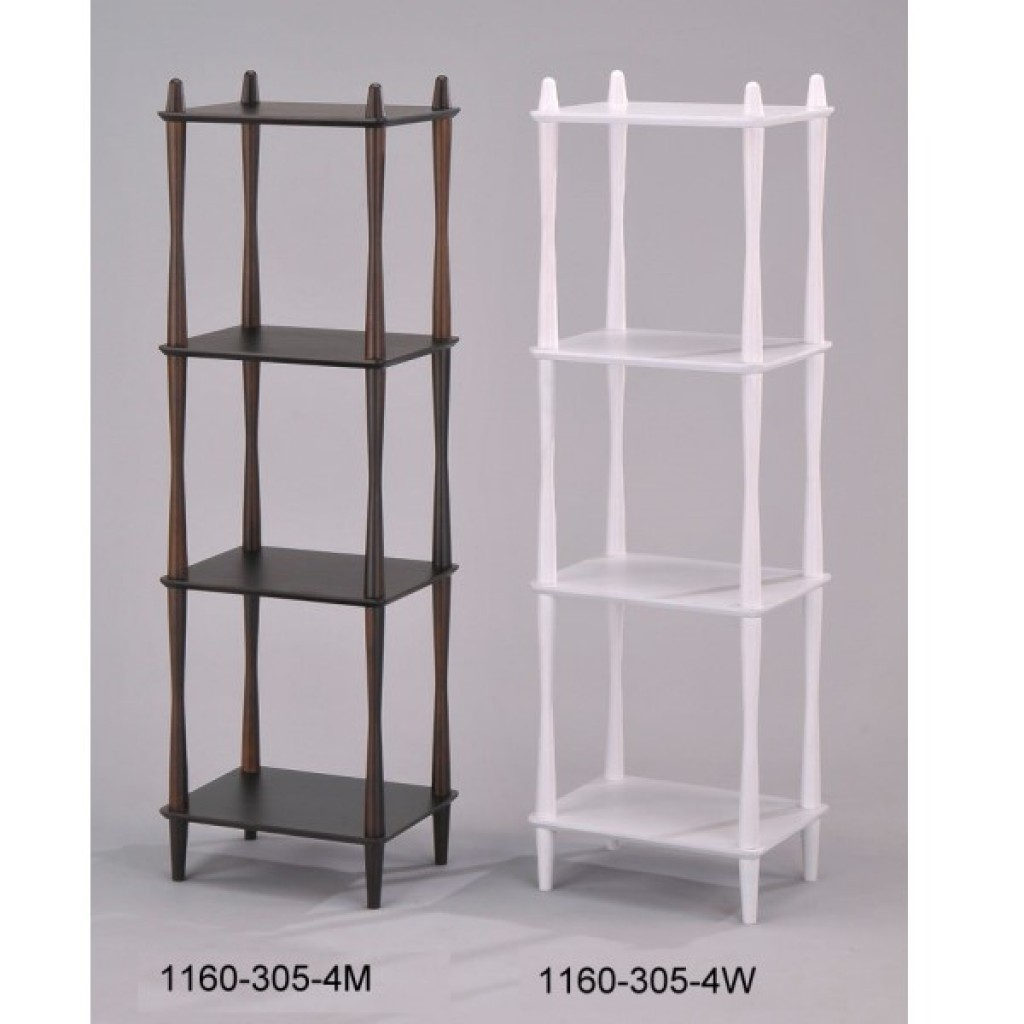 1160-305-4 Wooden  4 Tier Rack
