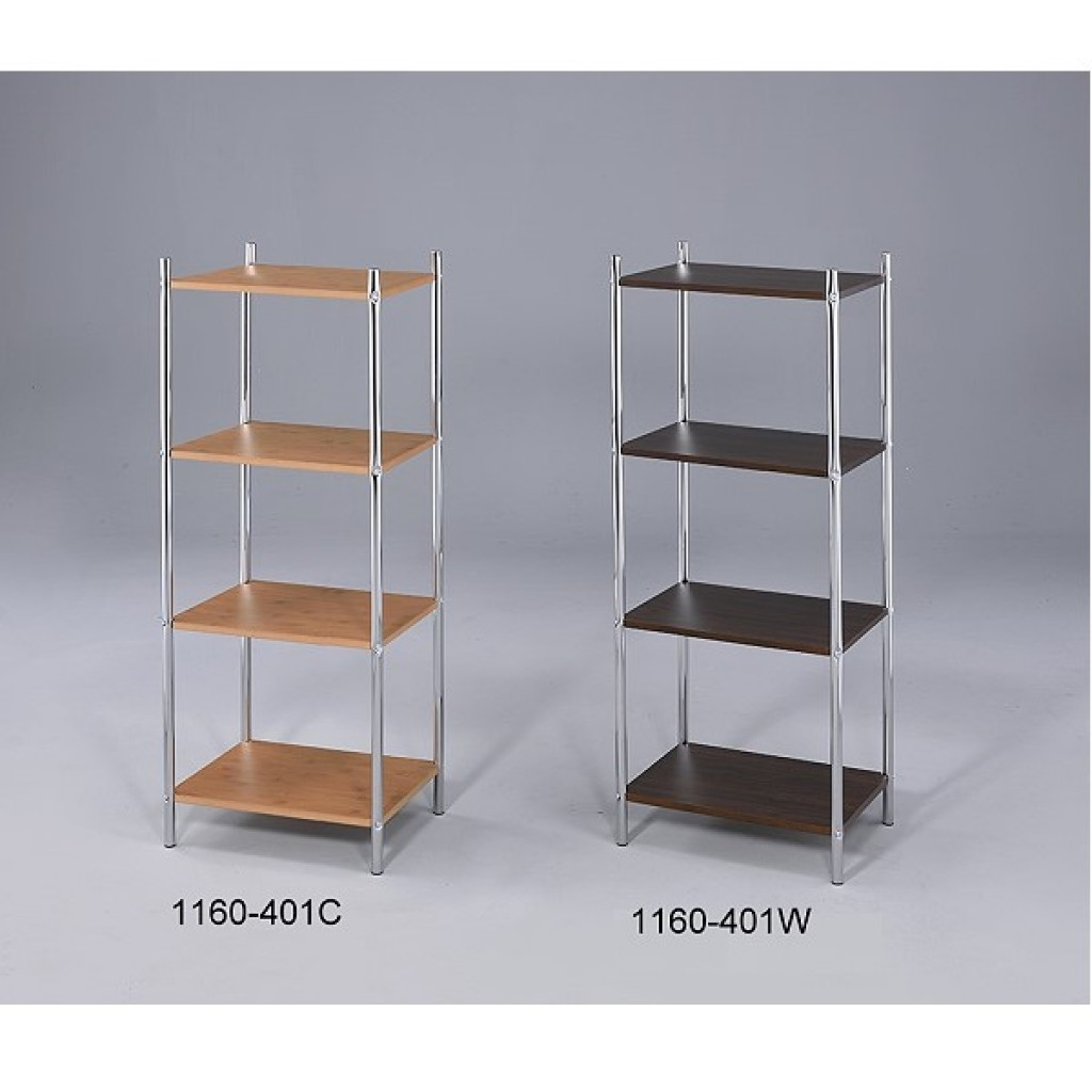 1160-401 Wooden / Metal  4 Tier Rack