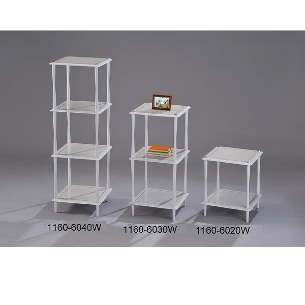 1160-6040-W Wooden  4 Tier Rack