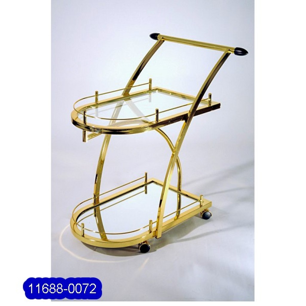 1688-0072 Metal Tea Trolley