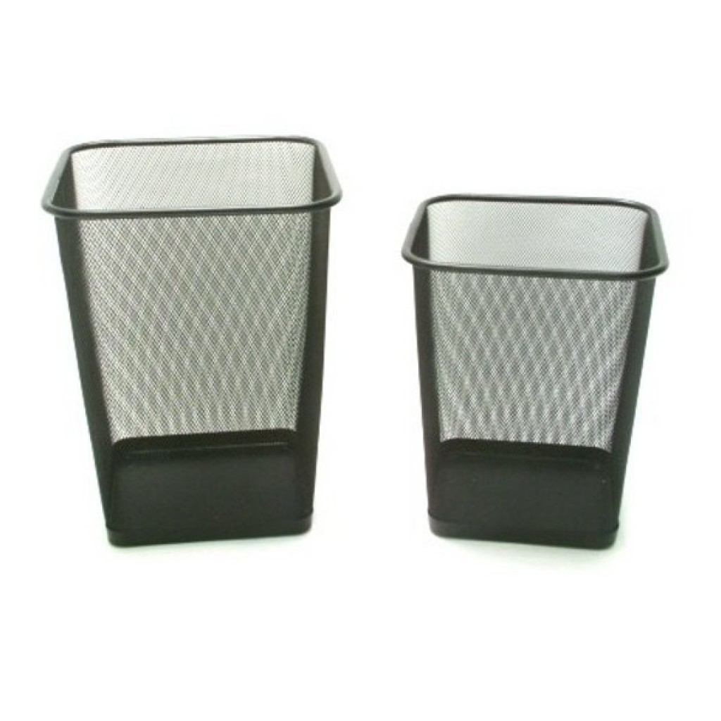 1613-912L Metal Square Trash
