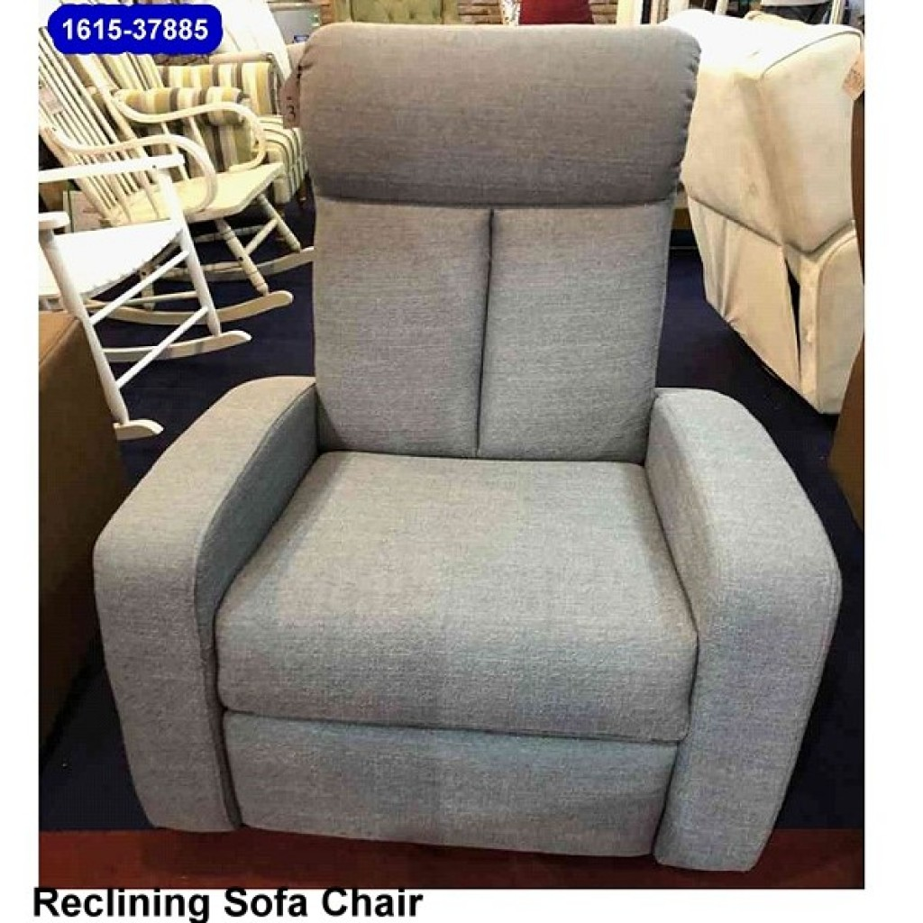 1615-37885 Reclining Glider Single Sofa