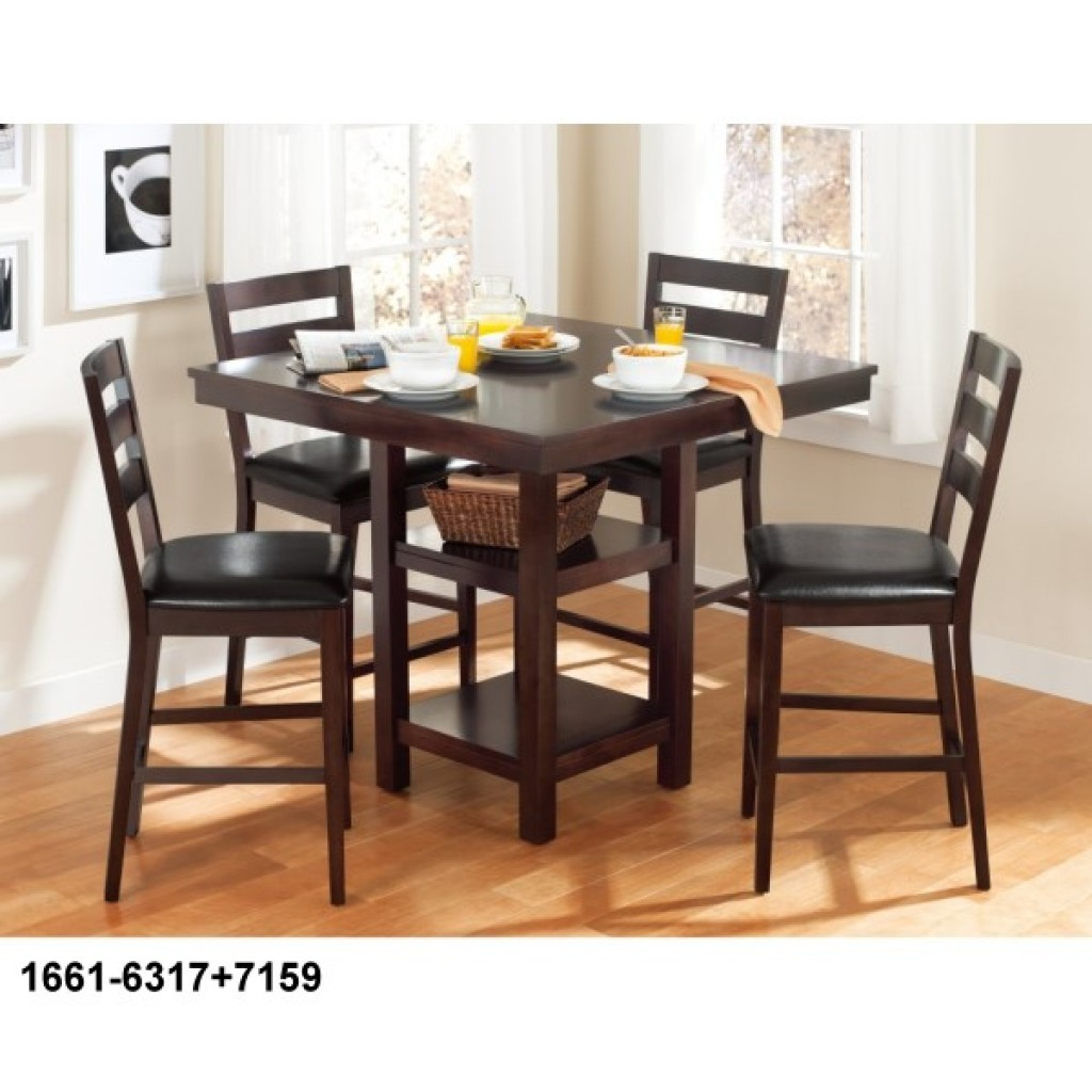 1661-6317+7159 Counter Height Dining Set