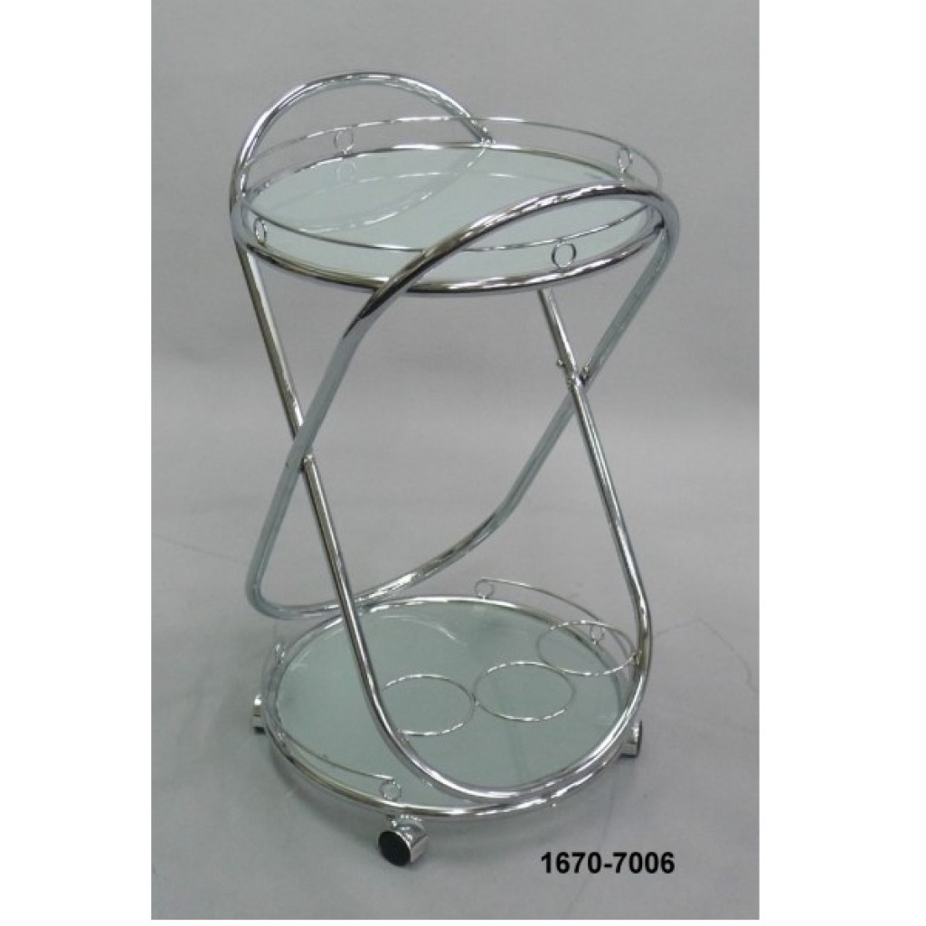 1670-7006 Metal Tea Trolley