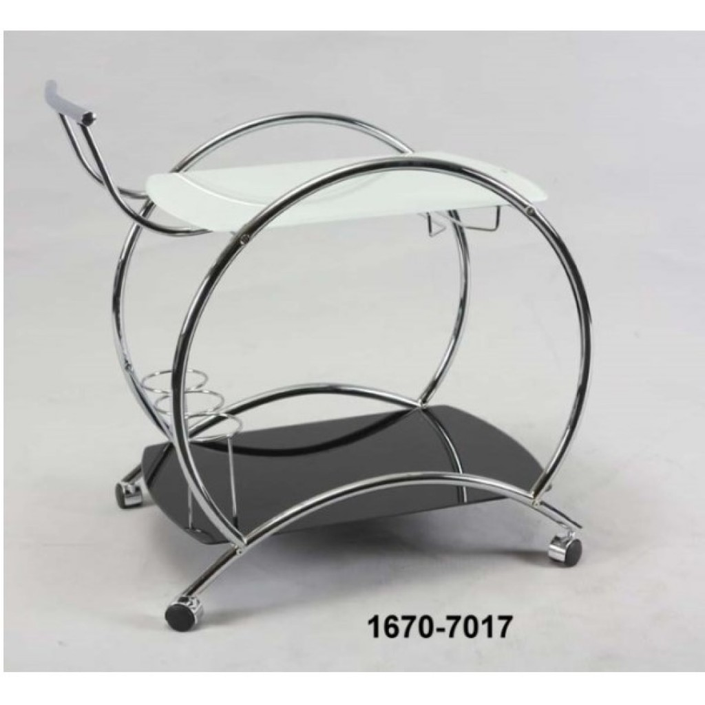 1670-7017 METAL TEA TROLLEY
