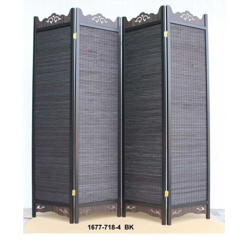 1677-718-4BK WOODEN SCREEN