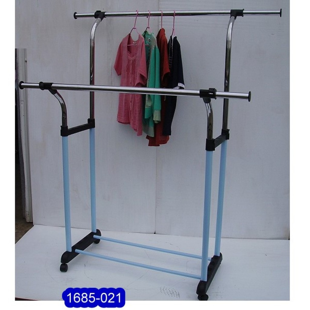 11685-021 Shopping mall Double display hanger