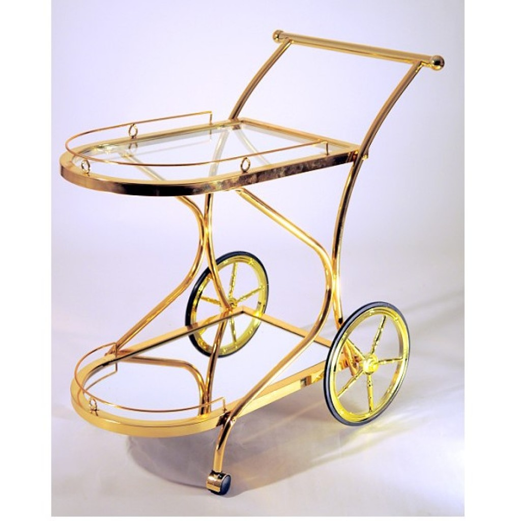 1688-0014K Metal Tea Trolley