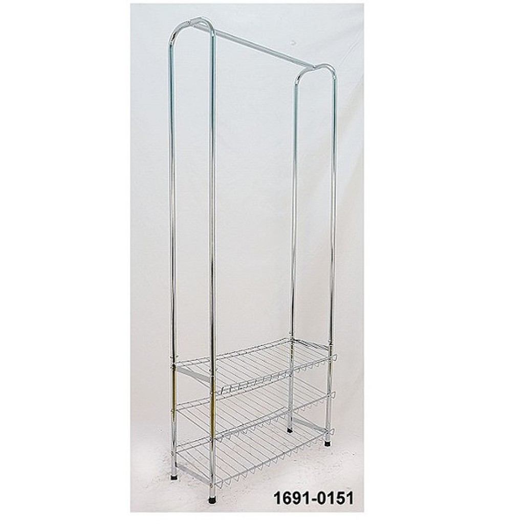 11692-3A0151 Metal 3 Tier Rack & clothes Hanger