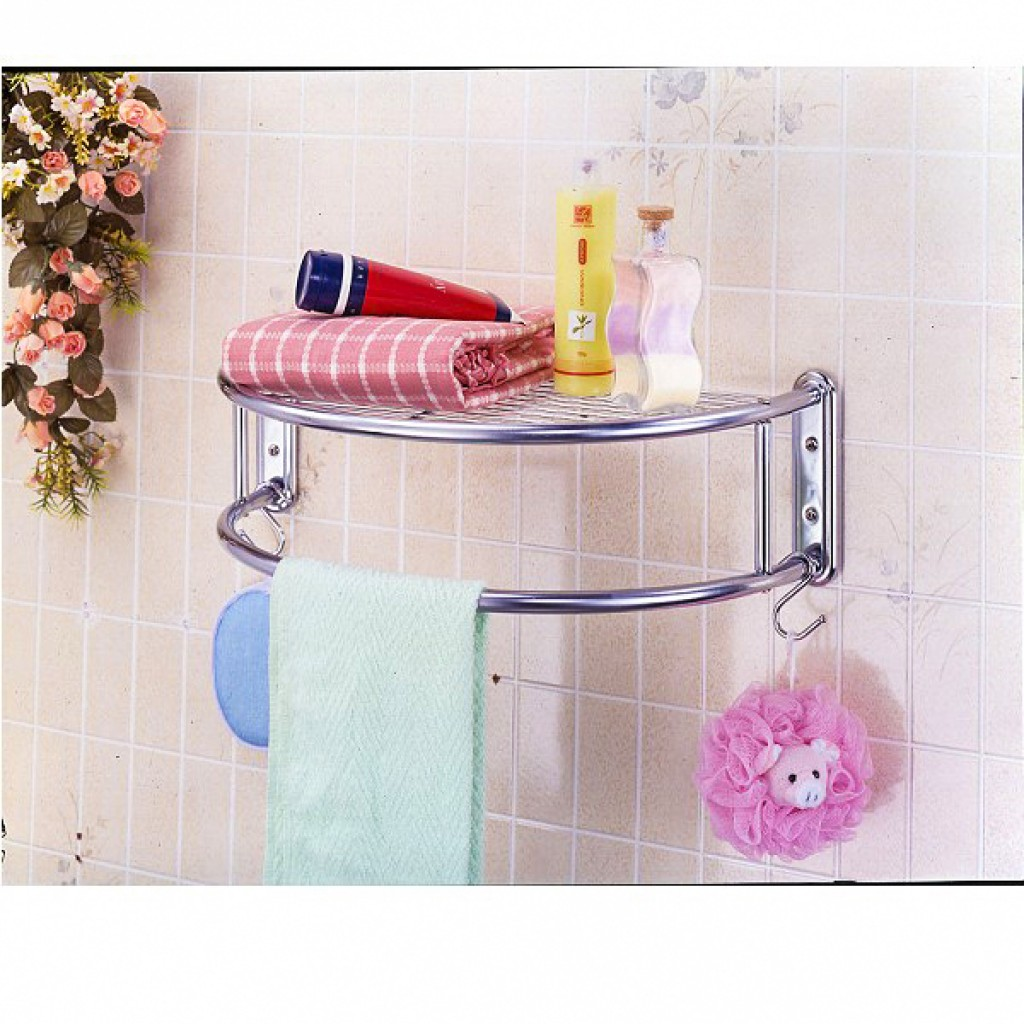 11691-C0105 Metal Bathroom Rack