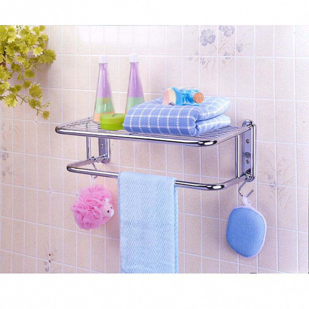 11691-C0108 Metal Bathroom Rack