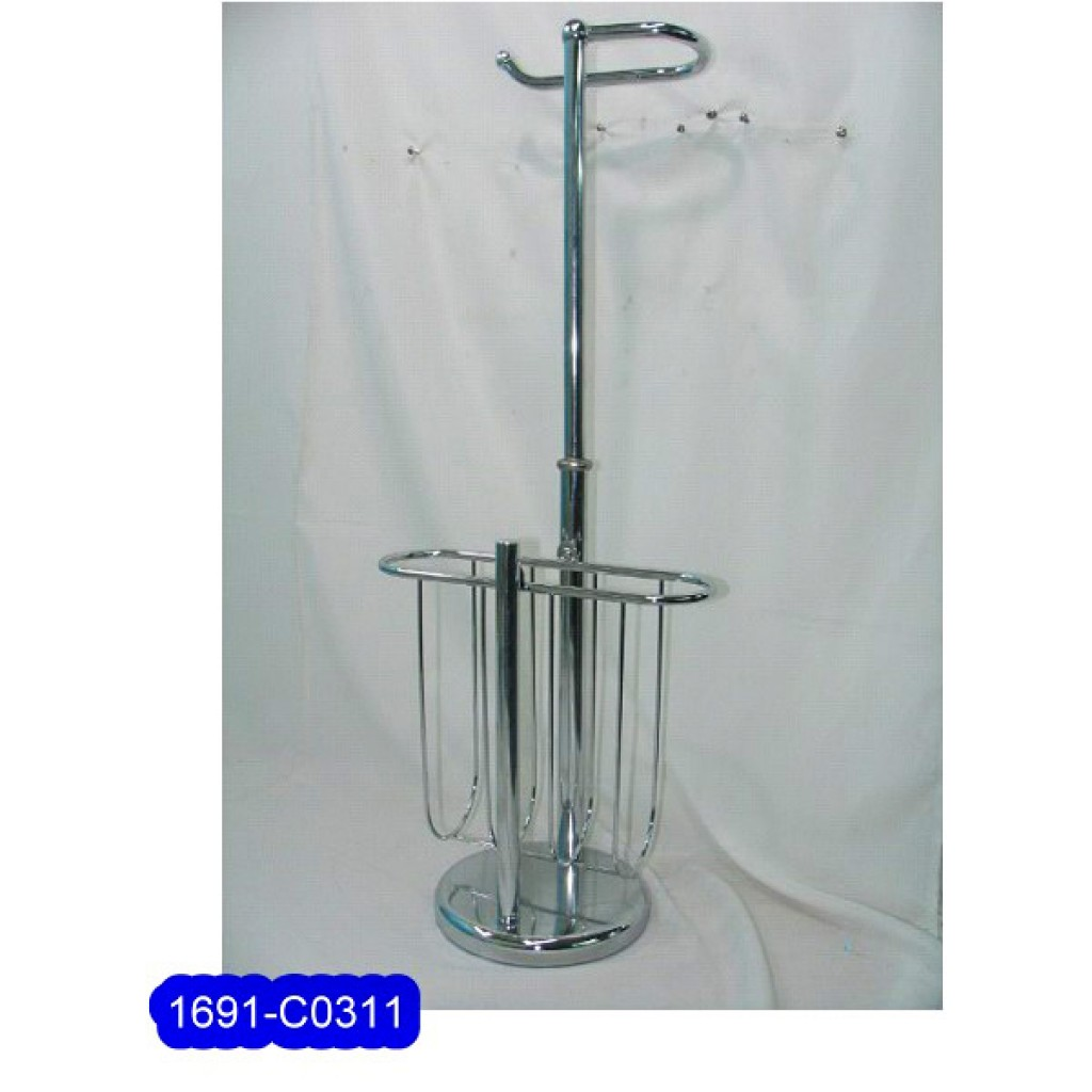 1691-C0311 Metal Tissue Rack & magazine rack