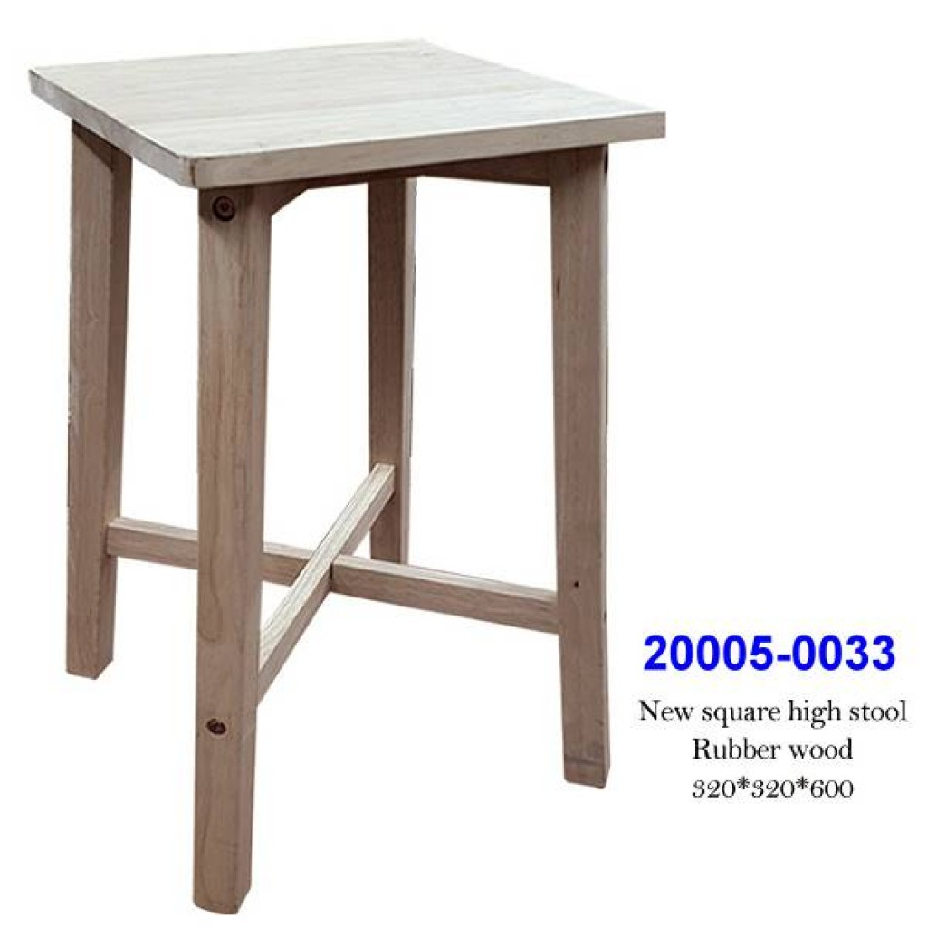 20005-0033 New square high stool