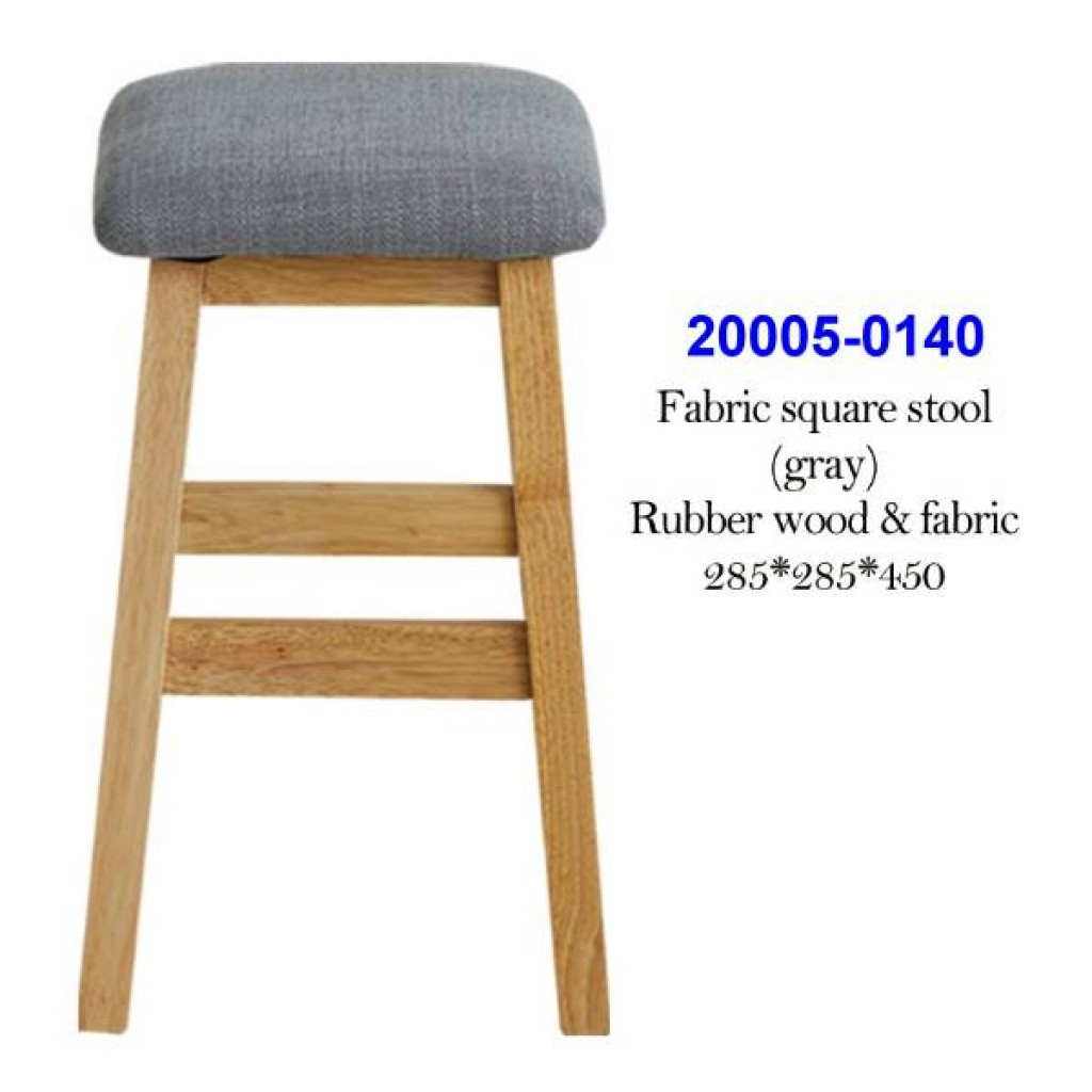 20005-0140 Fabric square stool