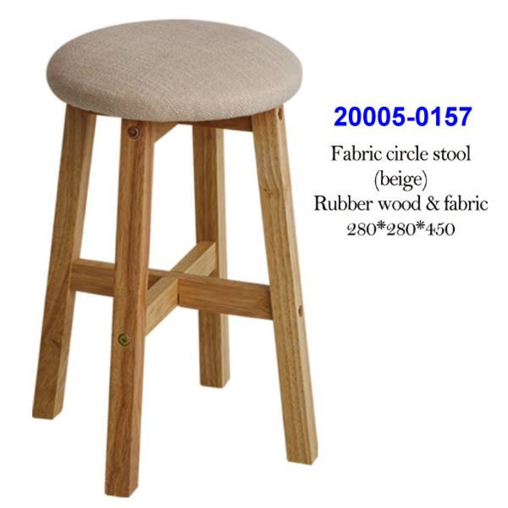 20005-0157 Fabric square stool