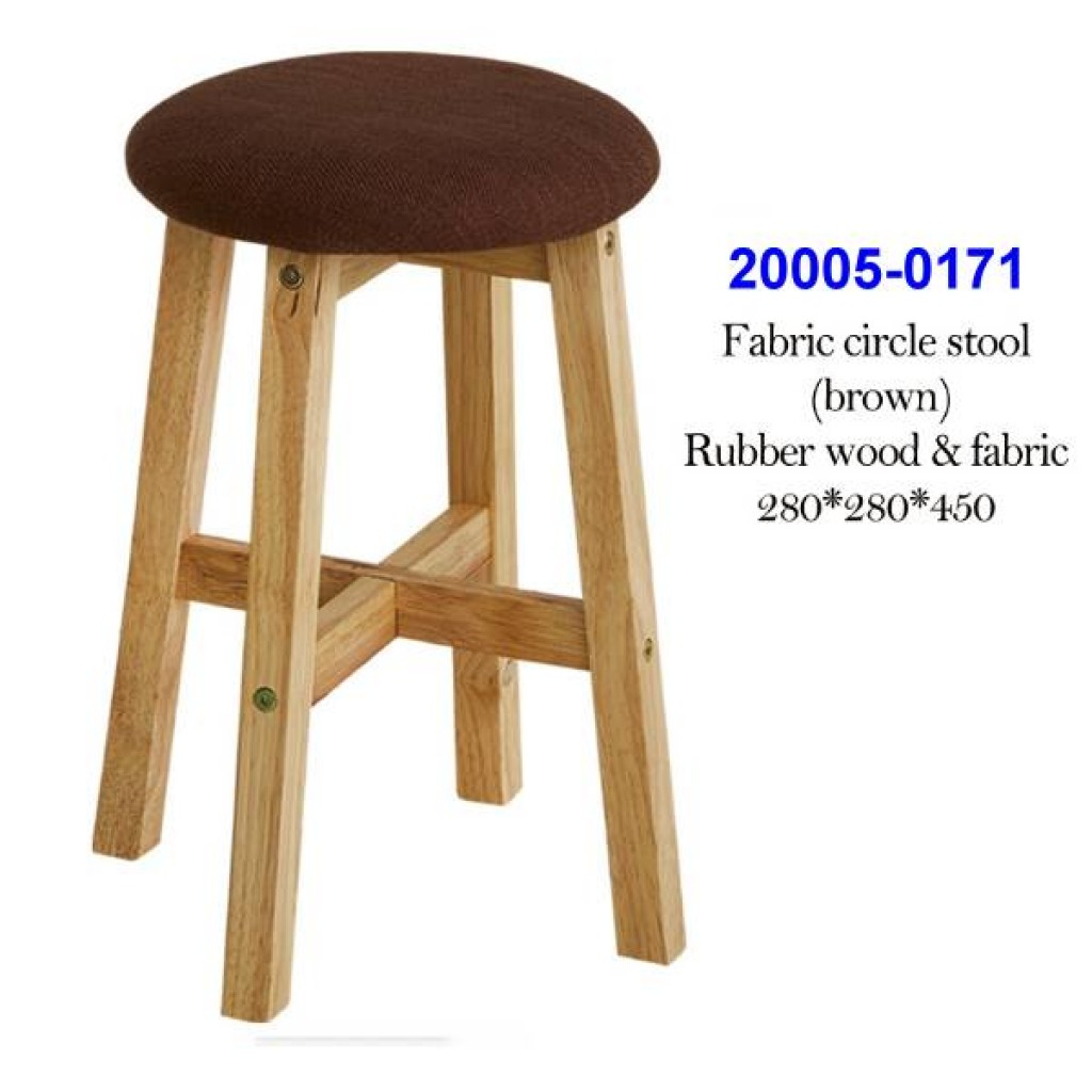 20005-0171 Fabric square stool