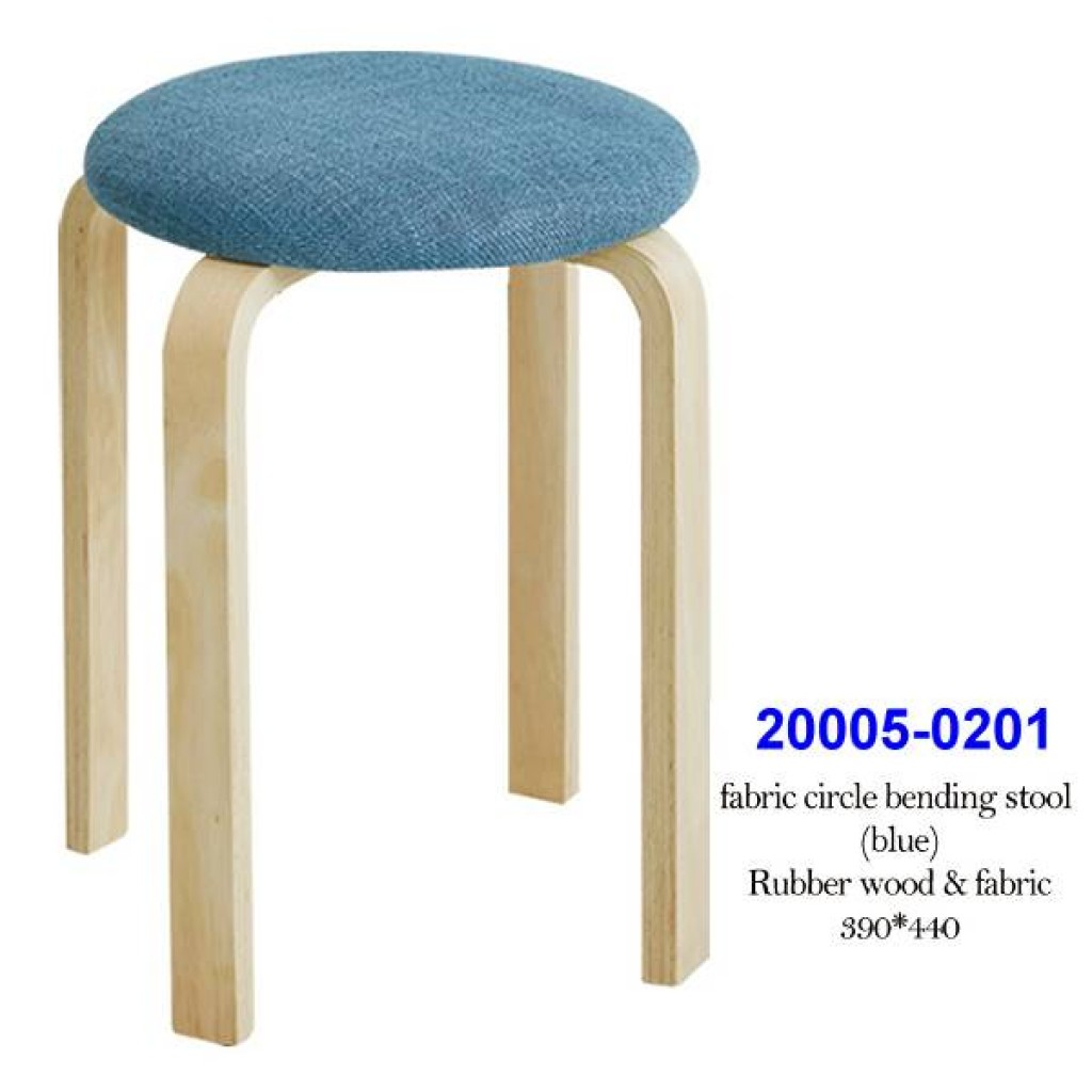 20005-0201 Fabric circle bending stool