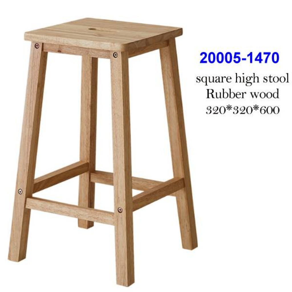 20005-1470 Square High Stool