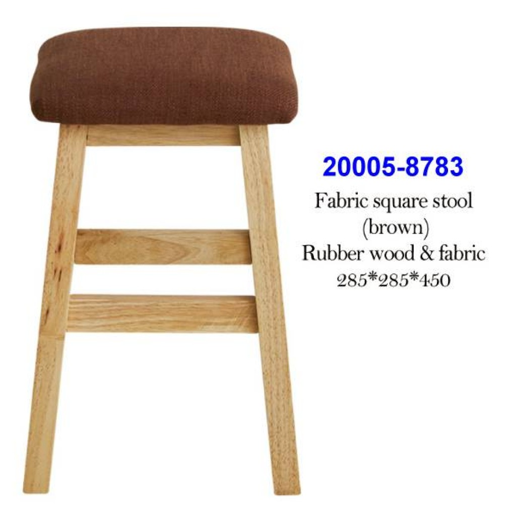 20005-8783 Fabric square stool