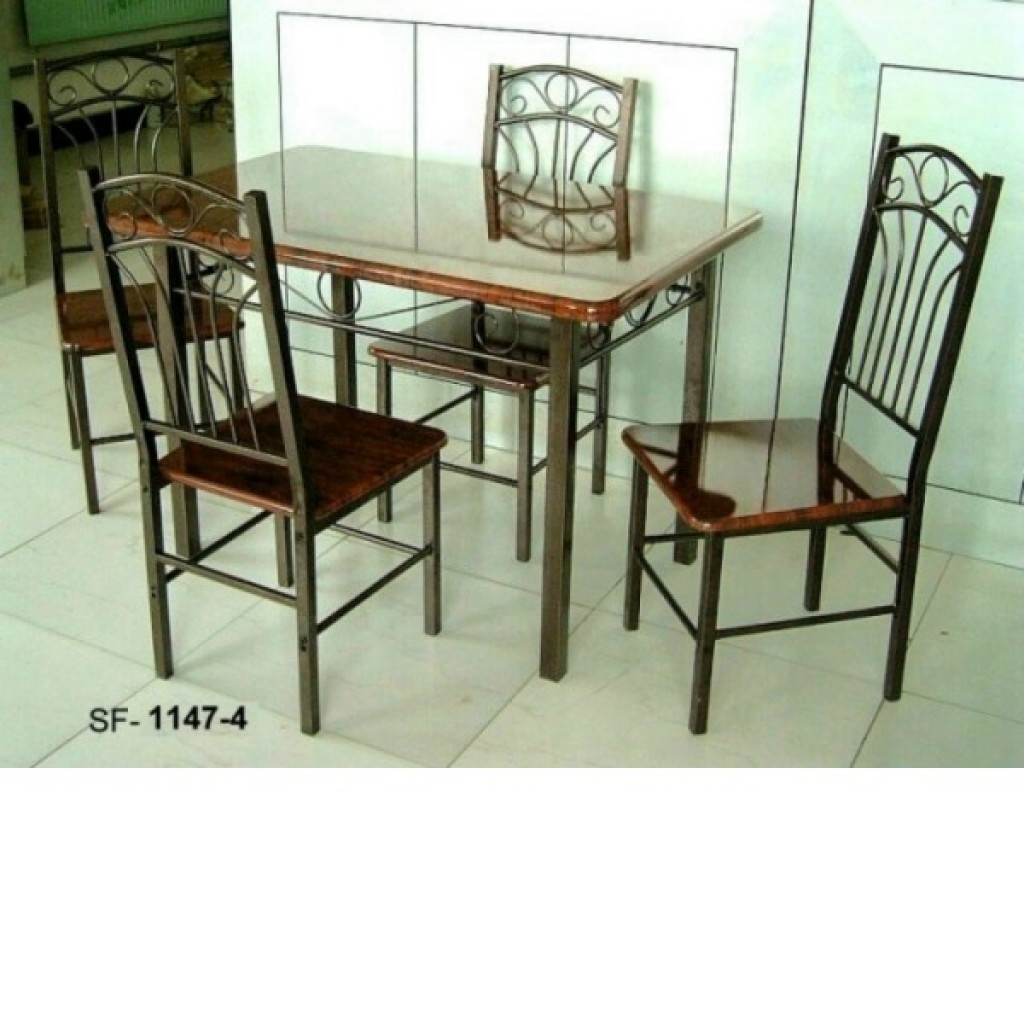 30246-1047-4 Wooden/Metal Dining Set