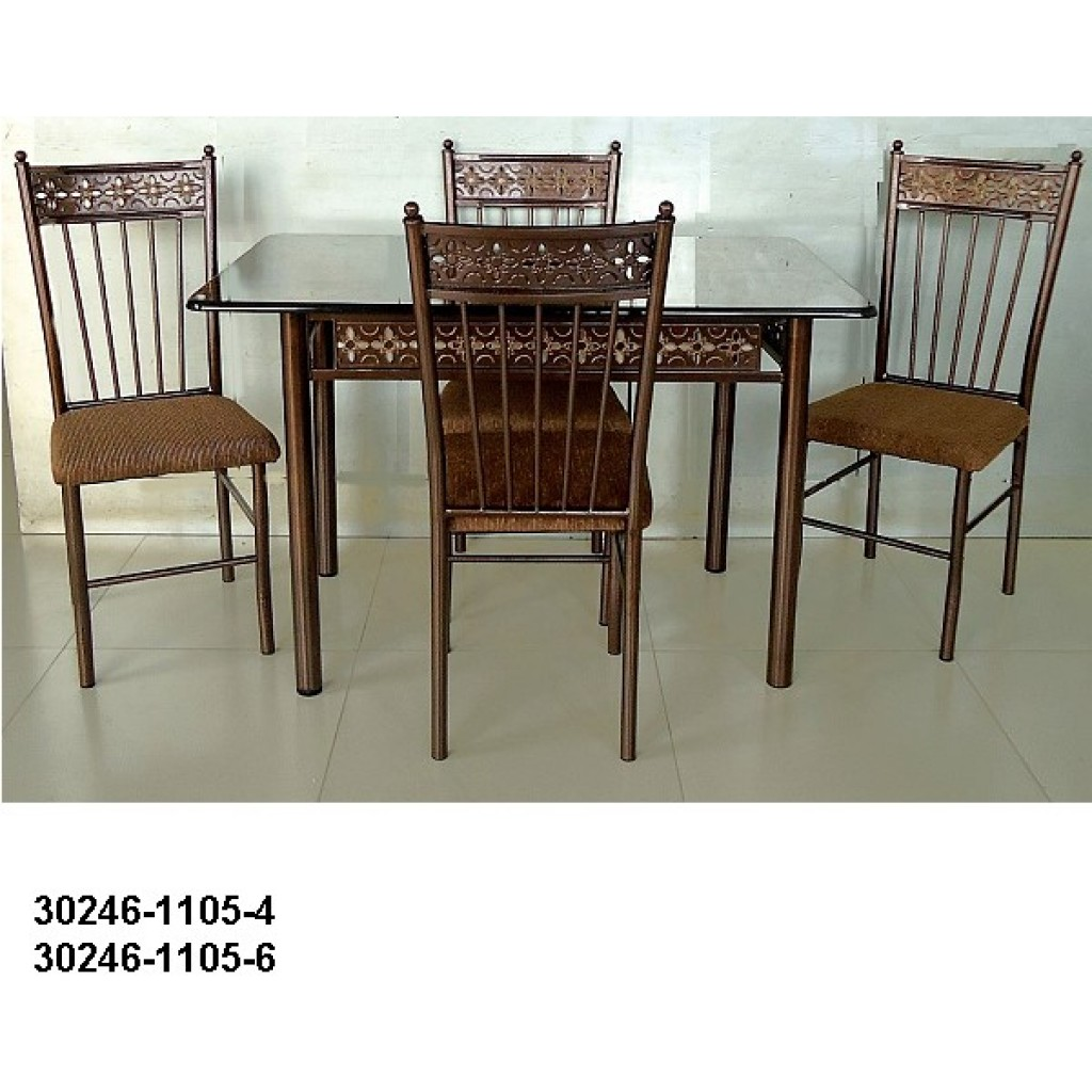30246-1105-4 Metal dining Set